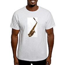 Alto sax Ash Grey T-Shirt