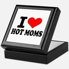 I love hot moms Keepsake Box