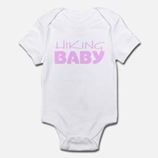 Hiking Baby Girl Infant Bodysuit