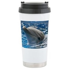 Tasha the Dolphin Travel Mug
