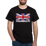 Flag of UK (labeled) Dark T-Shirt