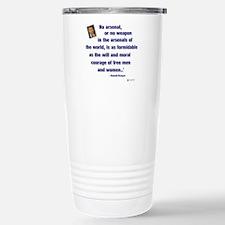 Reagan Courage Stainless Steel Travel Mug