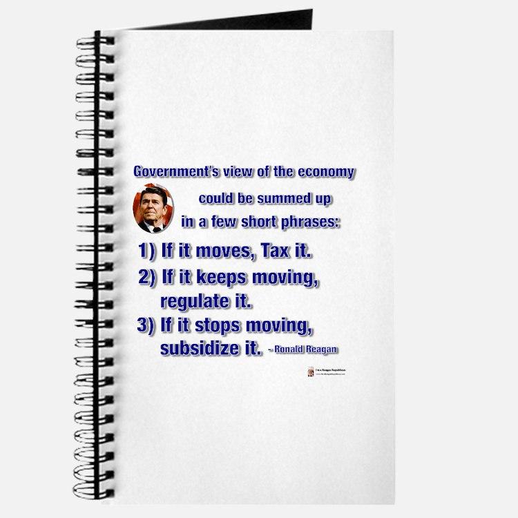 Reagan Govt View of Economy Journal