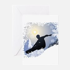 Snowboarding! Greeting Cards (Pk of 10)