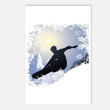 Snowboarding! Postcards (Package of 8)