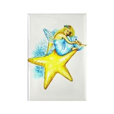 Genevieve Fairy Rectangle Magnet
