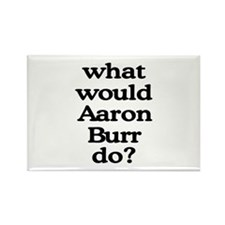 Aaron Burr Rectangle Magnet