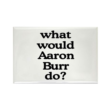 Aaron Burr Rectangle Magnet (100 pack)