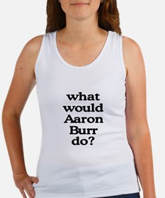 Aaron Burr Women's Tank Top