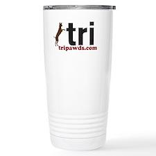 Tripawd Ceramic Travel Mug