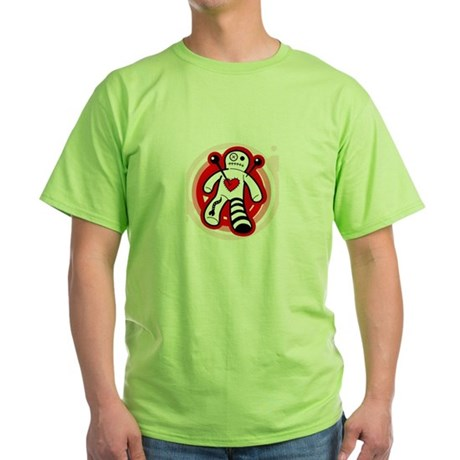 Vodoo Love Doll Green T-Shirt