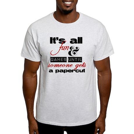 Papercut Light T-Shirt