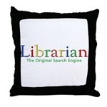 Librarian Throw Pillow