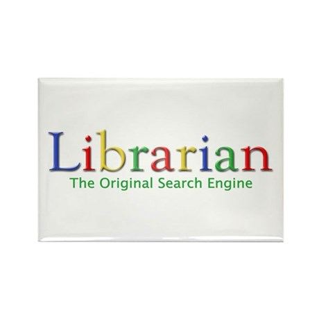 Librarian Rectangle Magnet (100 pack)