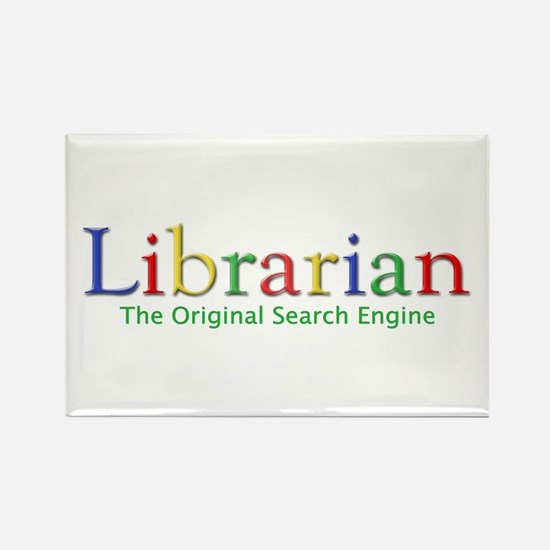 Librarian Rectangle Magnet