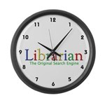 Librarian Large Wall Clock
