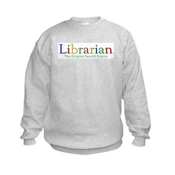 Librarian Kids Sweatshirt