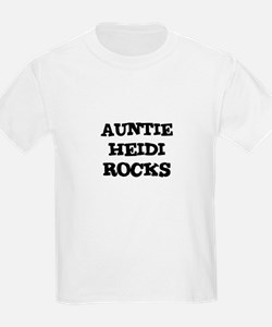 AUNTIE HEIDI ROCKS Kids T-Shirt