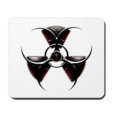 Radioactive biohazard Mousepad