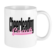 Cheerleading Coach Pink Small Mug