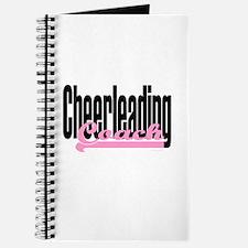 Cheerleading Coach Pink Journal