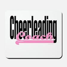 Cheerleading Coach Pink Mousepad