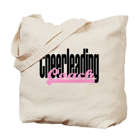 Cheerleading Coach Pink Tote Bag