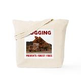 Logger Regular Canvas Tote Bag