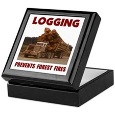 SAVE THE FORESTS Keepsake Box