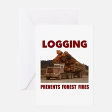SAVE THE FORESTS Greeting Card