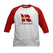 Waving Flag With Denmark Tee