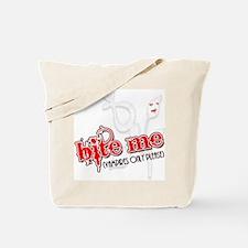 """""""Bite Me"""" Tote Bag"""
