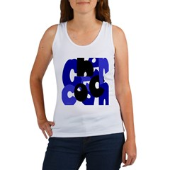 Jumbled Cheer Coach Women's Tank Top