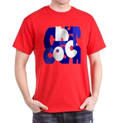 Jumbled Cheer Coach T-Shirt