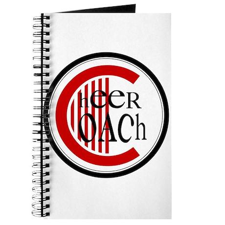 Cheer Coach Circle Red Journal