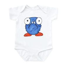 Furry Fang Monster Infant Bodysuit