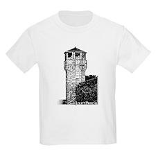 Joliet Prison B&W Kids T-Shirt