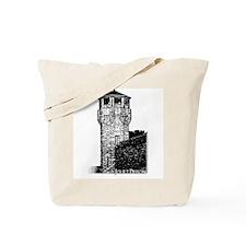 Joliet Prison B&W Tote Bag