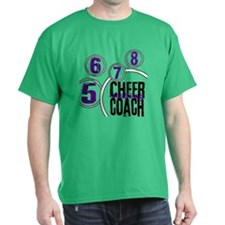 Cheer Coach in Circles T-Shirt