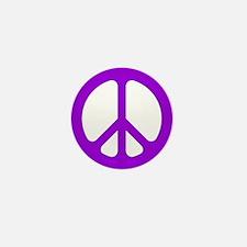 Purple CND logo Mini Button