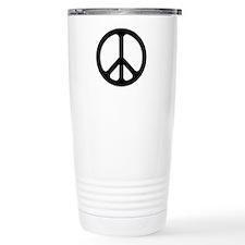 Black CND logo Travel Mug