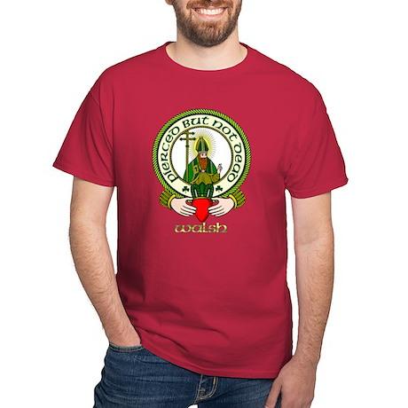 Walsh Clan Motto Dark T-Shirt