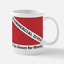 Commercial Diver - I go down Mug