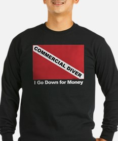 Commercial Diver - I go down T