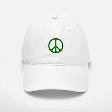 Green CND logo Baseball Baseball Cap