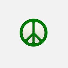 Green CND logo Mini Button