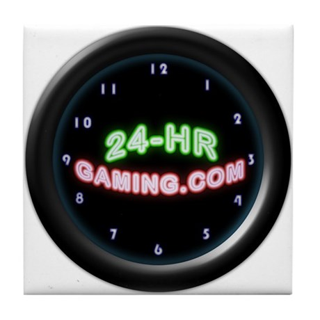 24-HR Gaming Tile Coaster