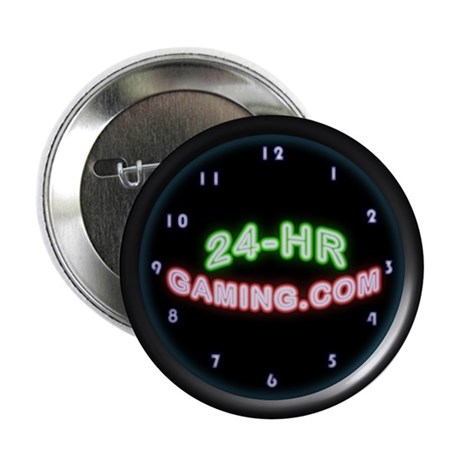"24-HR Gaming 2.25"" Button (100 pack)"