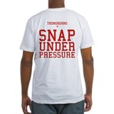 Red river rivalry Fitted Light T-Shirts