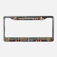 Cute National association of african americans in human License Plate Frame